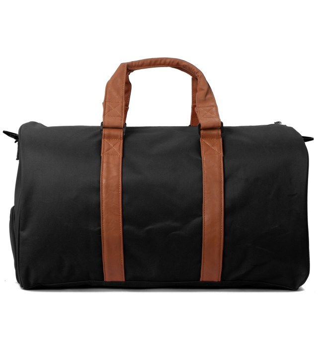 Black/Tan Novel Bag