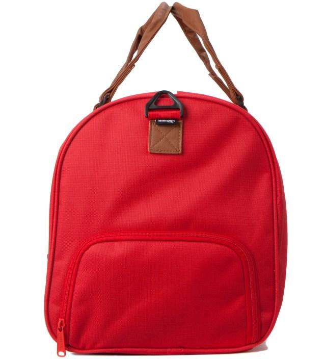 Red/Tan Novel Bag