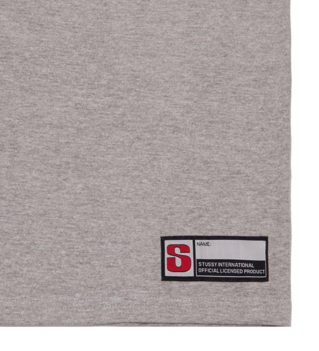 Grey Heather #12 Football Jersey Long Sleeved T-Shirt