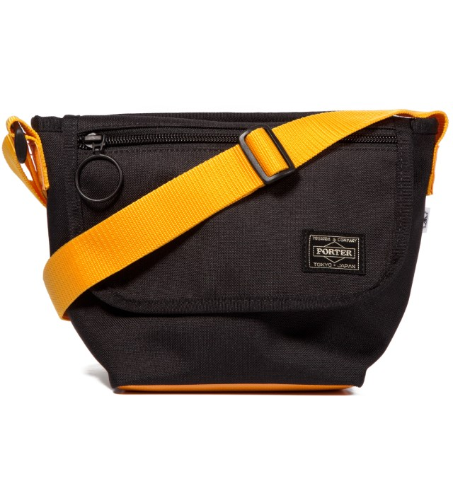 Hombre Nino x Porter Black Shoulder Bag