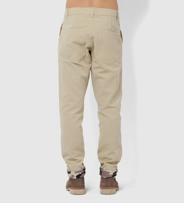 Beige and Camo Timba Pants