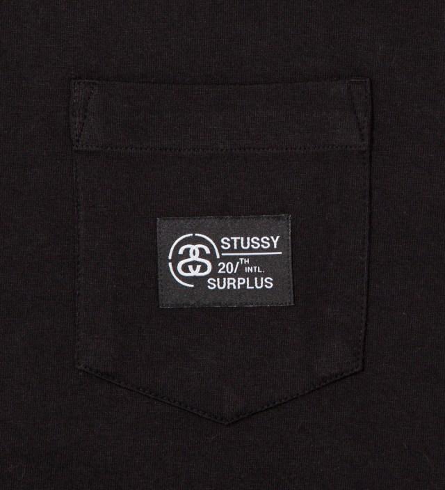 Black Locker Pocket T-Shirt