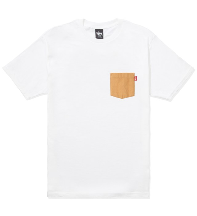 White Flannel Pocket T-Shirt