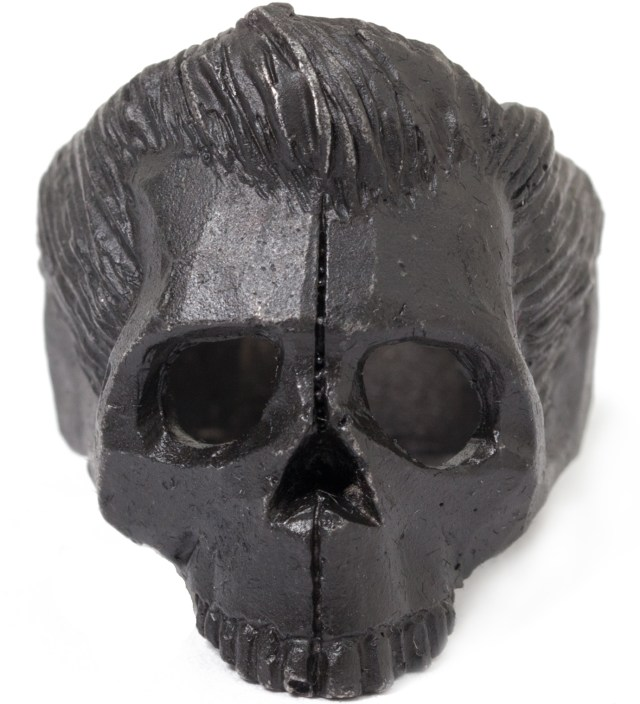 Black Dead Serious Ring