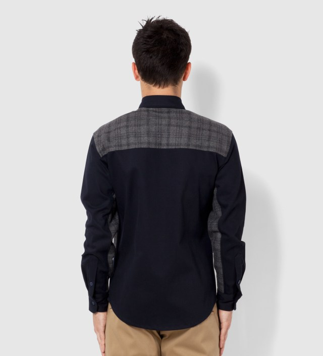 Navy and Grey Antithese Shirt