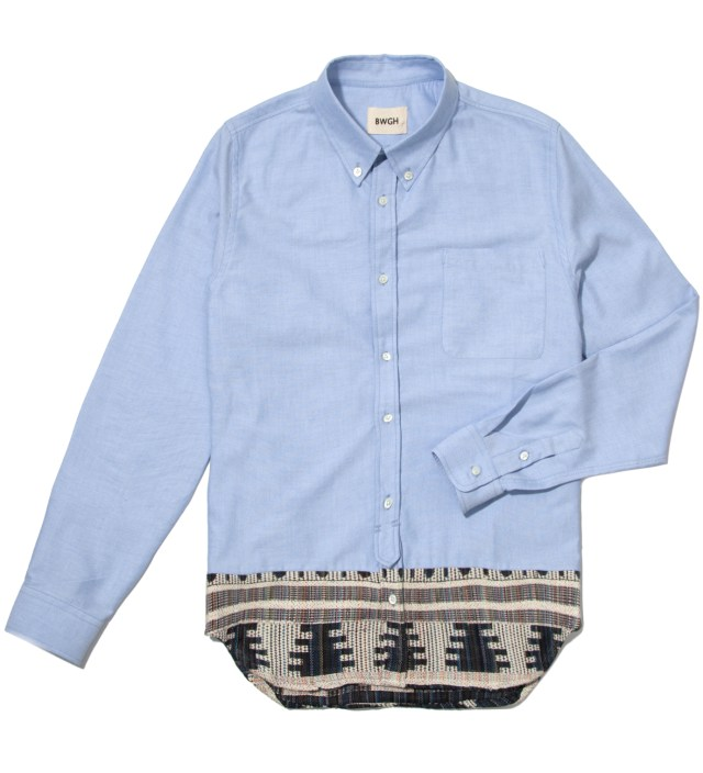 Blue Fulani Shirt