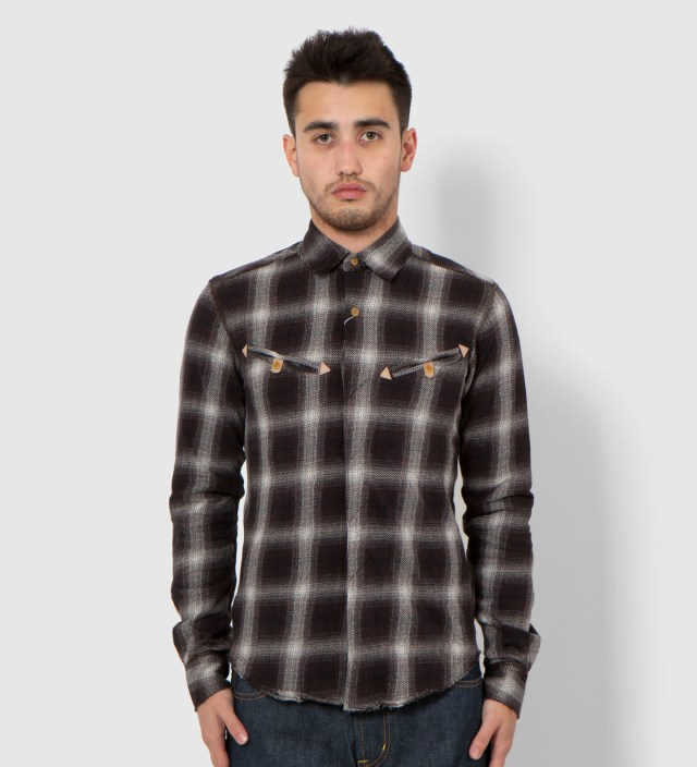Jaquared Western Shirt
