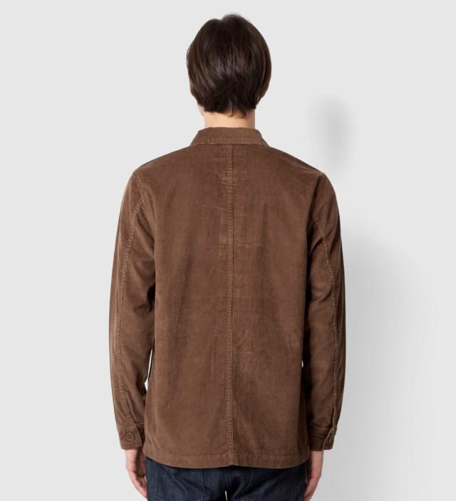 Brown Cord Work Jacket