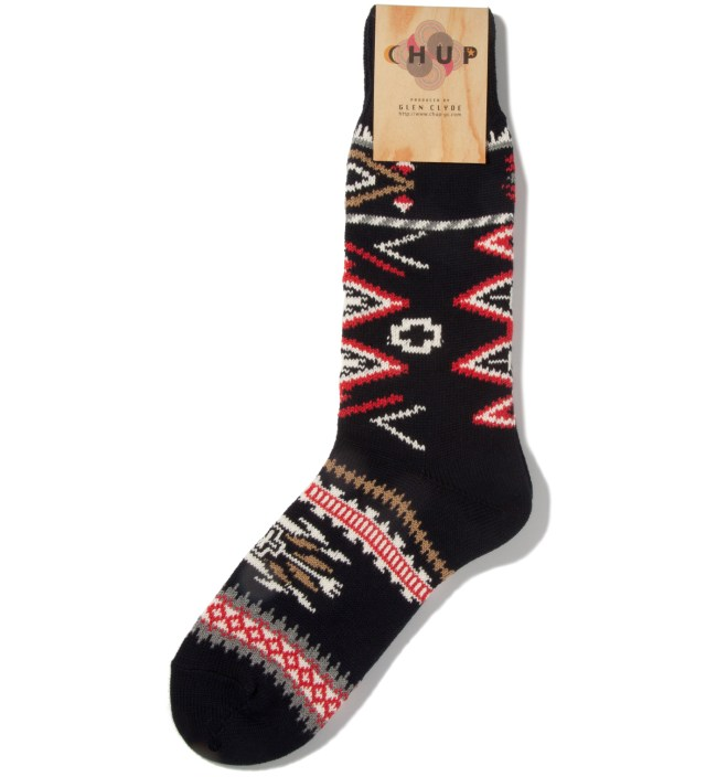 Navy Ganado Socks