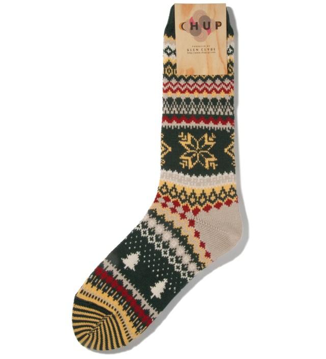 Green Qanik Socks