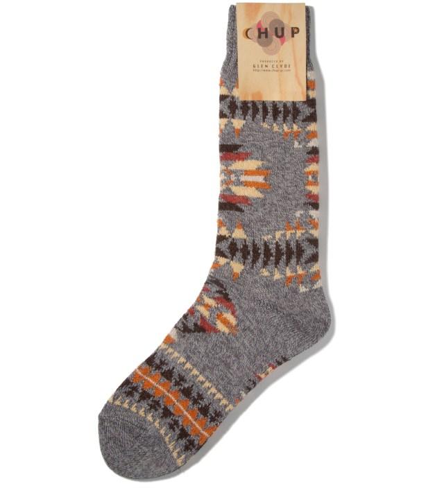 Grey Serape Socks