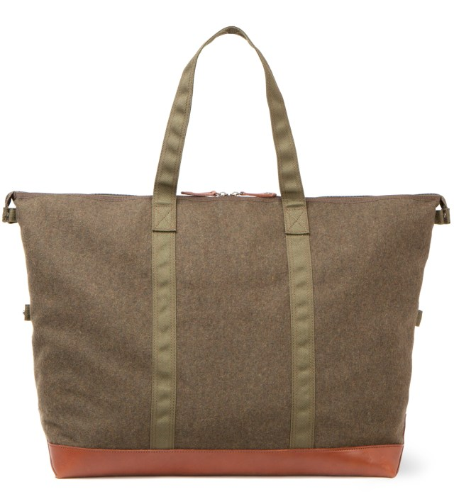 Head Porter x Dr. Romanelli Military Green Awol Tote