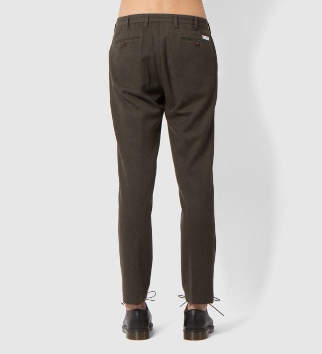 Khaki Classic Slacks Pants