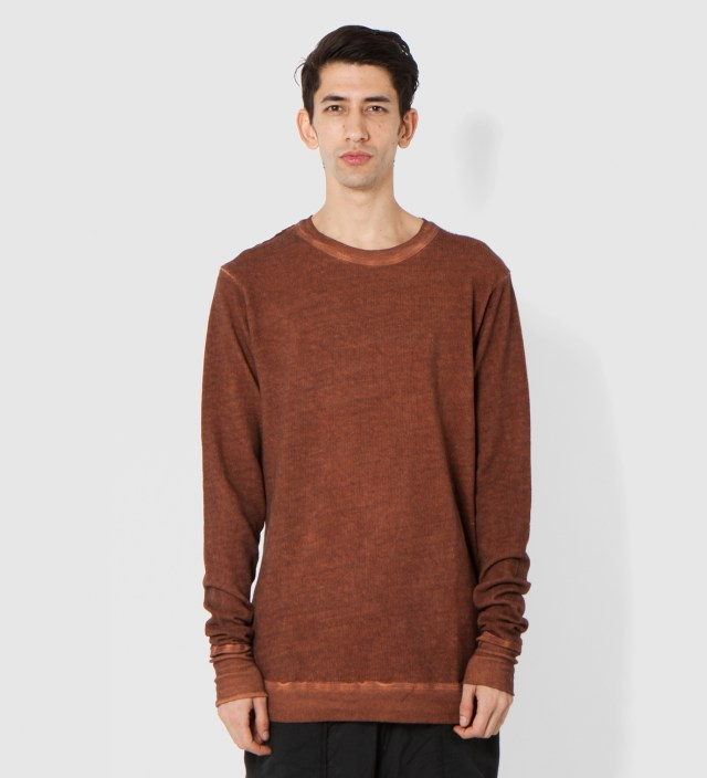 Rust Tener Basic Sweatshirt