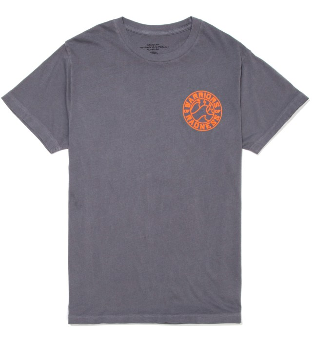 Iron Grey Strikers Stencil T-Shirt