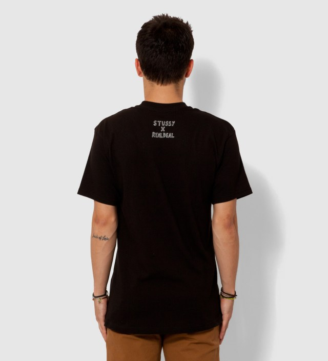 Black Real Deal Static T-Shirt