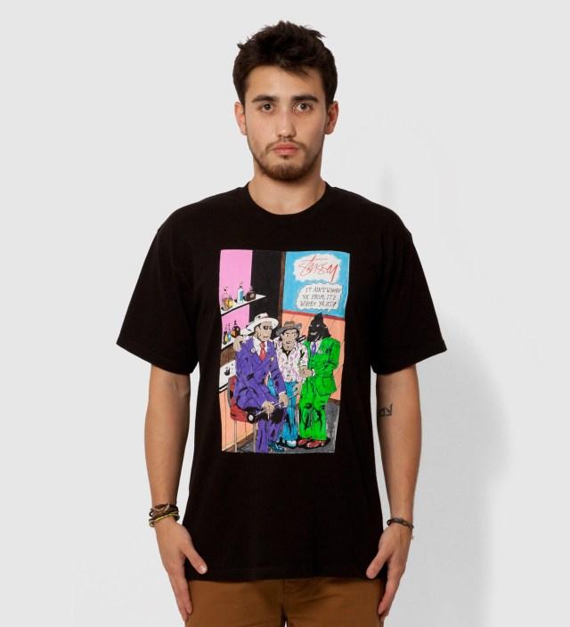 Black Real Deal Bar T-Shirt