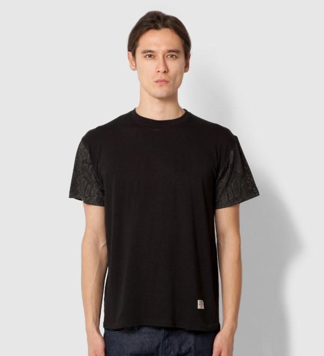 Stevin Gold x Mister Black Snake Sleeve T-Shirt