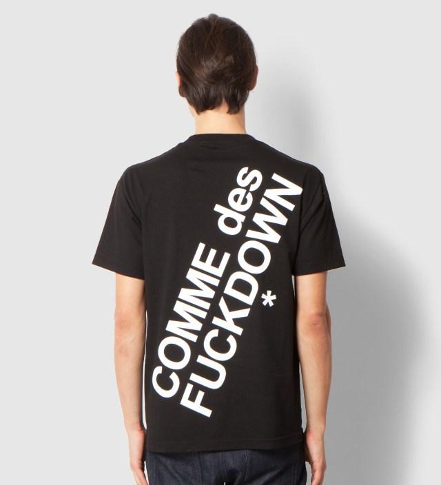 Black Comme des Fuckdown T-Shirt
