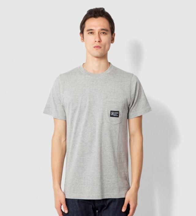 Heather Grey Locker Pocket T-Shirt