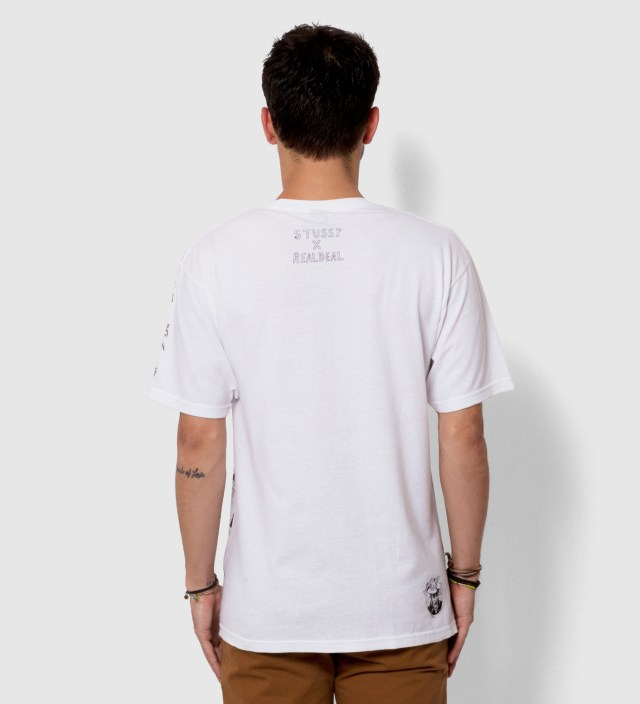 White Real Deal Static T-Shirt