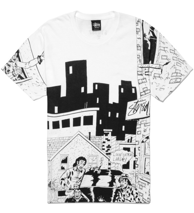 White Real Deal Alley T-Shirt