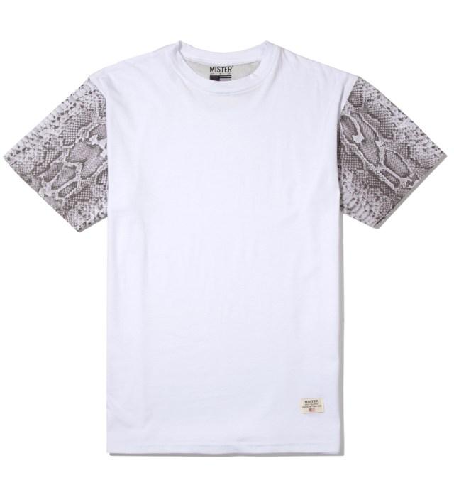 Stevin Gold x Mister White Snake Sleeve T-Shirt