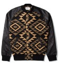Black Navajo Baseball Jacket