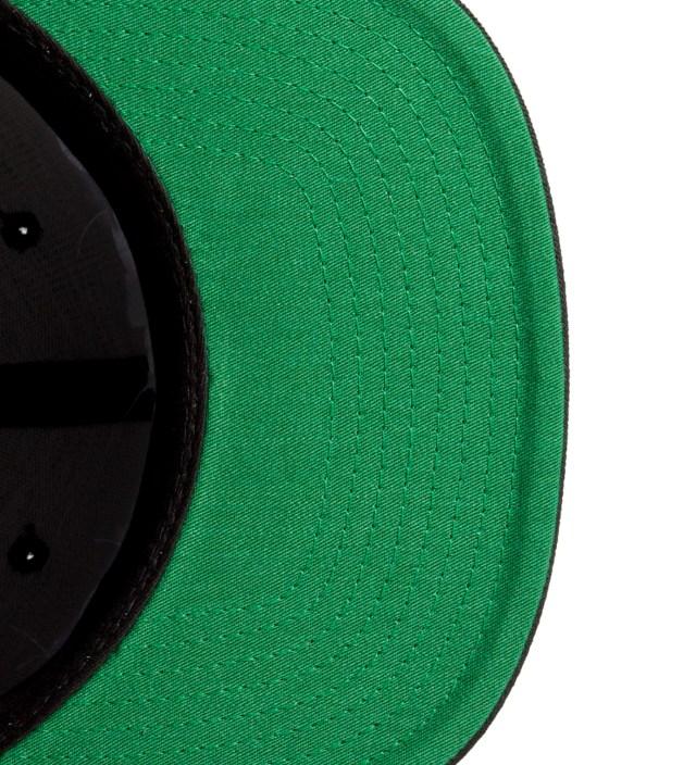 Black/White FUCT Wars Logo Snapback Cap