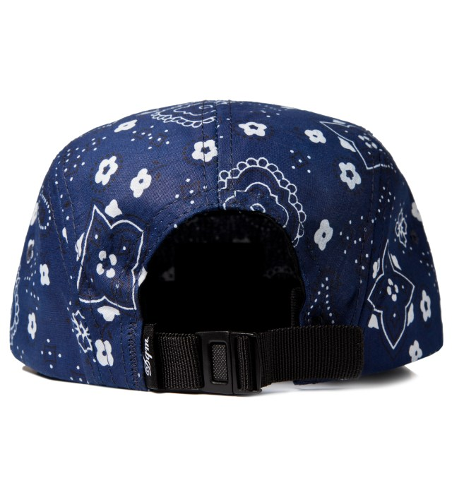 Blue Bayou Bandana Print 5-Panel Camp Cap