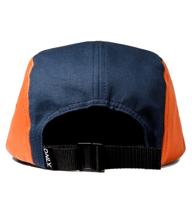 Navy/Pumpkin/Wine Tommy 5-Panel Cap