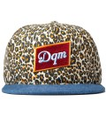Leopard/Denim Dirty Water Snapback Cap