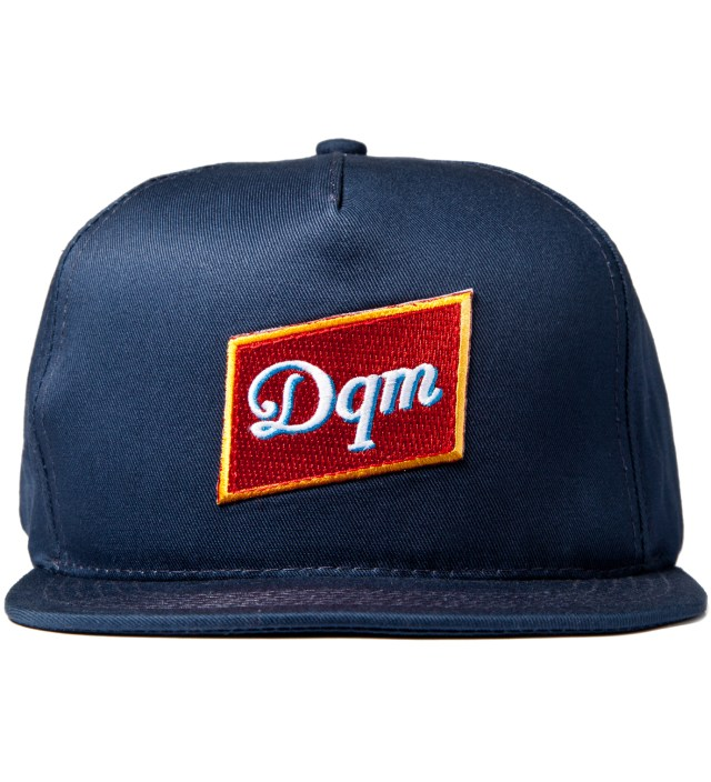 Navy Dirty Water Snapback Cap