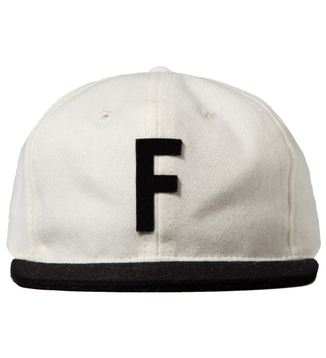 White Ebbets Field Cap