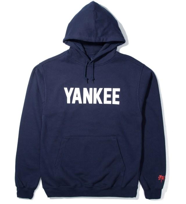 Navy Yankee Hoodie