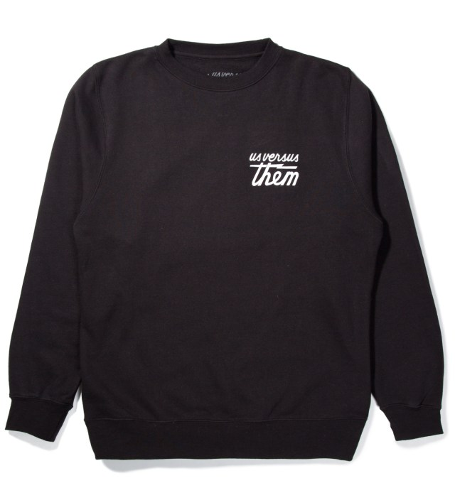 Black Indivisible Crewneck