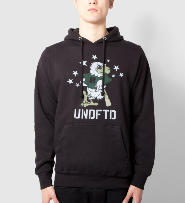 Black Eagle Undefeated Hoodie