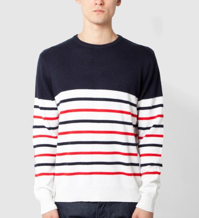 Navy Parisian Stripe Sweater