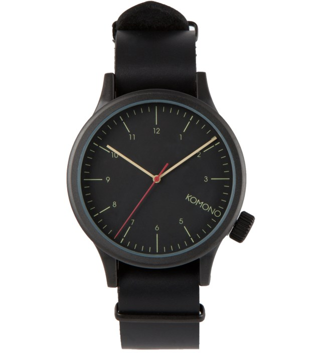 Black Black Magnus Watch