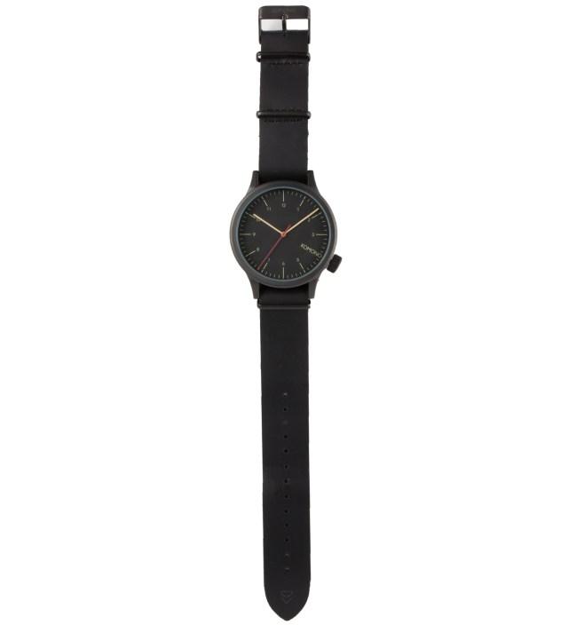 Black Black Magnus Watch