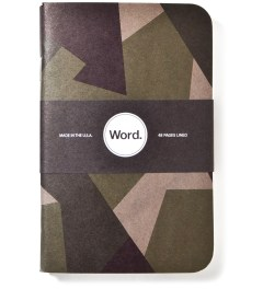 Word. Swedish Camo 3 Pack Notebook Picture