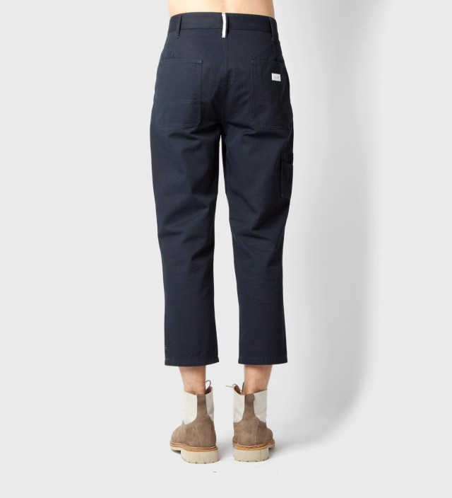 "Deluxe for Hypebeast Navy ""Railroad"" 9/L Pants"