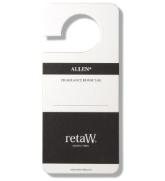 retaW Allen Room Tag Picture