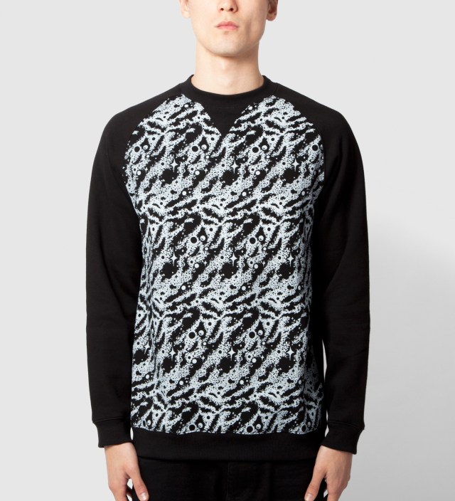 Black Space Truckin' Crewneck