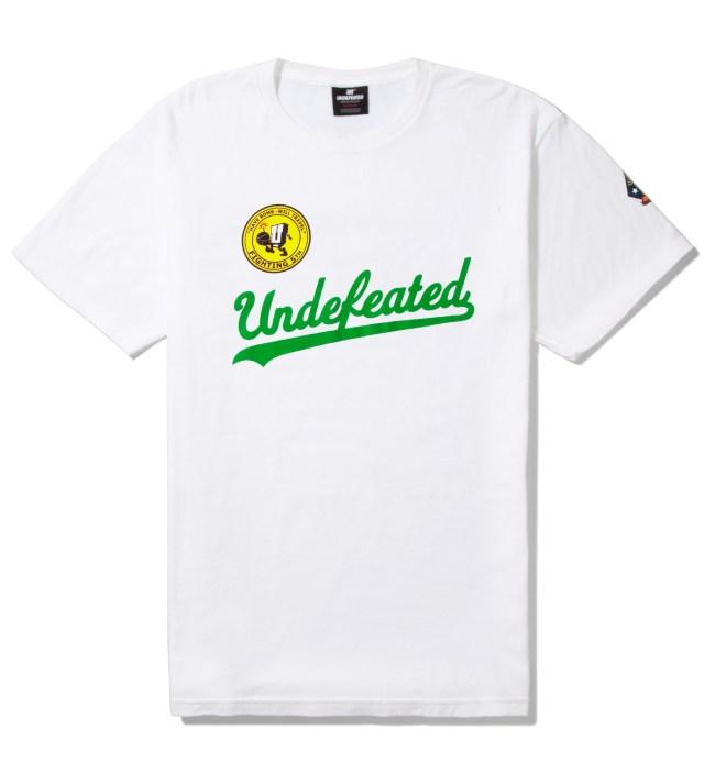 White UND Script T-Shirt