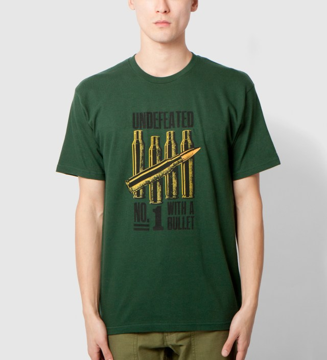 Forest Green No. 1 Bullet T-Shirt