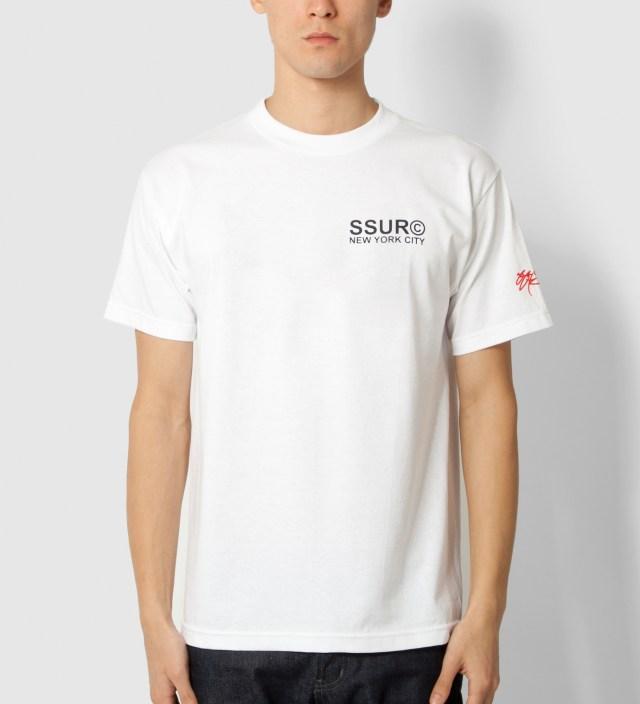 White Fair Warning T-Shirt