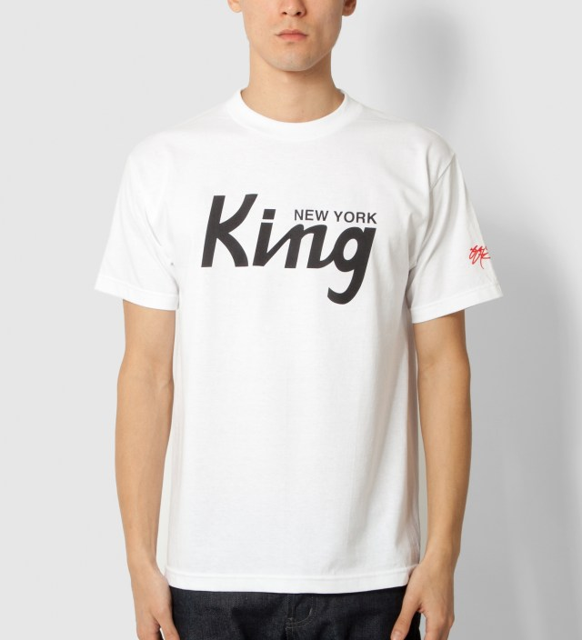 White New York King T-Shirt