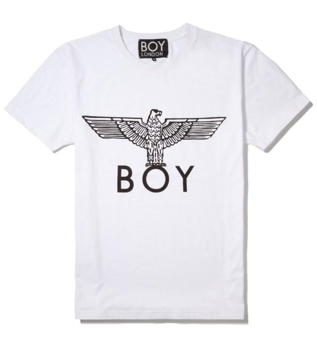 White/Black Boy Eagle T-Shirt