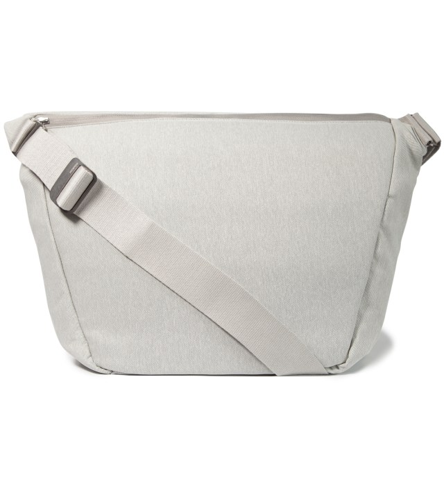 "Silver 15"" Laptop Messenger Bag"
